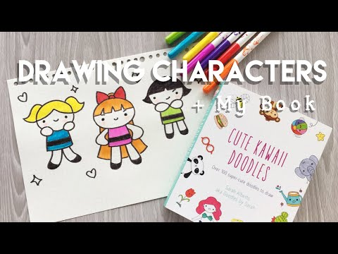 How to Draw Cute Characters + Book Announcement! | Doodles by Sarah