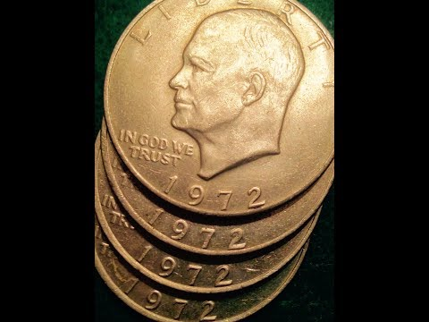 1972 Dollar Coin: S Mint Marks Are 40% Silver