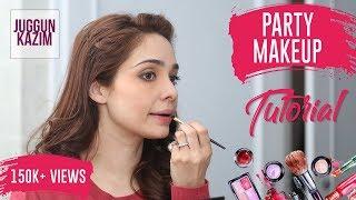 Easiest Evening Makeup Tutorial | Get Ready to Dazzle this Wedding Season | Juggun Kazim | Makeup