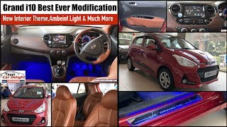 Grand i10 projector headlamps & LED Taillamps with matrix indicator