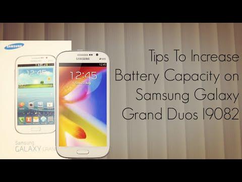 Tips to Increase Battery Capacity on Samsung Galaxy Grand Duos I9082 - PhoneRadar