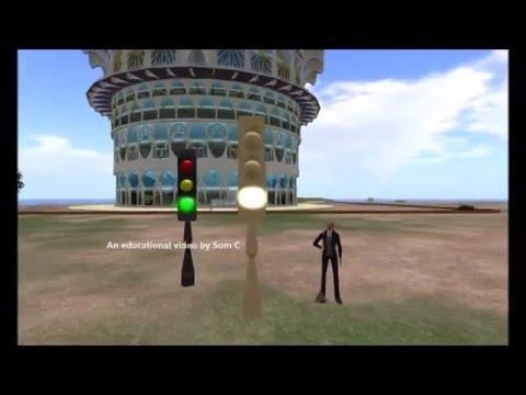Build a simple Traffic Signal for Secondlife and Opensim - Get the free Script