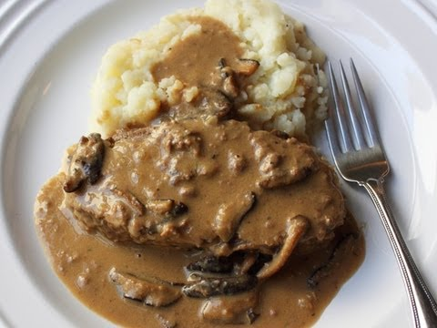 Creamy Mushroom Meatloaf Experiment Meatloaf Cooked In Creamy Mushroo