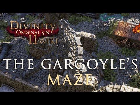 The Gargoyle's Maze Walkthrough - Divinity Original Sin 2