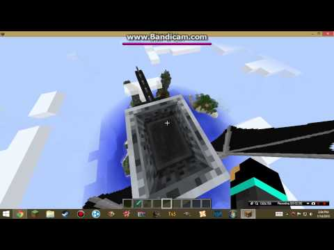 Minecraft Tutorial: How to Ride the Ender Dragon NO MODS!