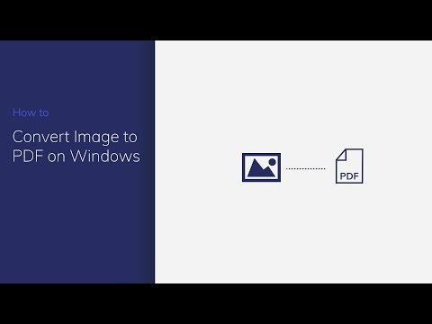 Convert Image to PDF on Windows with PDFelement