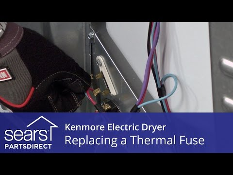 How to Replace a Kenmore Electric Dryer Thermal Fuse