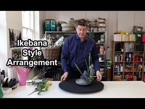 How To Make An Oriental Flower Arrangement