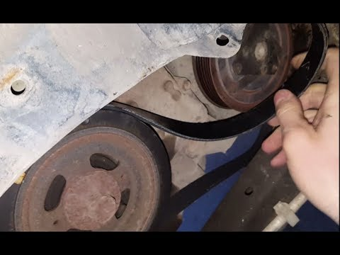 Nissan Altima Serpentine Belt Replacement - 2008