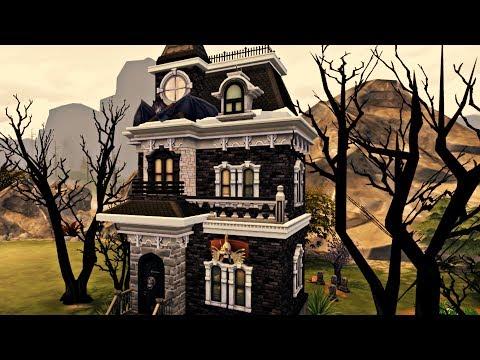 The Sims 4 - VAMPIRE STARTER   Speed Build
