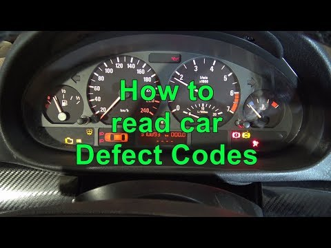 How to read car Defect Codes