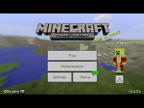 Minecraft PE 1.1.3.1 | MCPE 1.1.3.1 BETA UPDATE RELEASED!! + GAMEPLAY!! (Pocket Edition