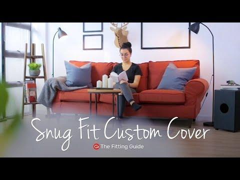 Snug Fit Custom Slipcover Fitting Guide | Comfort Works Sofa Covers