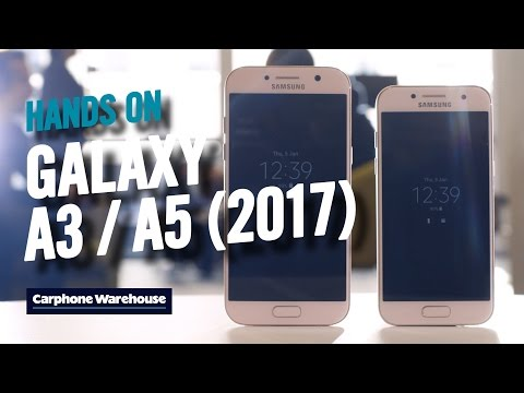 Samsung Galaxy A3 and A5 (2017): Hands on