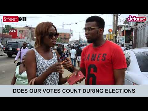 Skit : Delarue TV - Do You Think Our Votes Really Count in Nigeria?