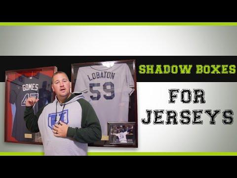 Shadow Boxes for Baseball Football Hockey Soccer and Basketball Jerseys