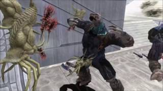 Halo 3 Glitch - Half Infected Brutes (REVISITED)