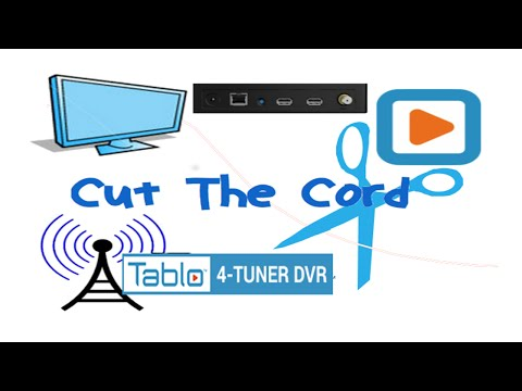 Cord Cutters: Tablo TV 4 Tuner DVR OTA HDTV
