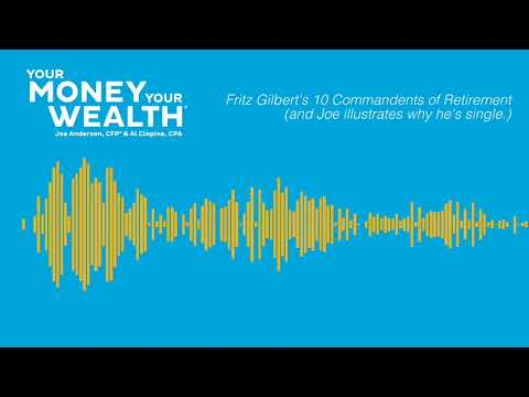 10 Commandments of Retirement with Fritz Gilbert - Your Money, Your Wealth Ep. 160