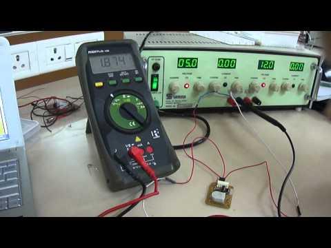 Working of Humidity Sensor