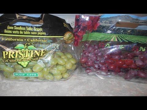 Green Grapes Vs. Red Grapes Wash and Clean | Eating Good Orange Chicken Chinese Food