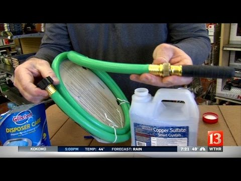 Home & Garden: Drain cleaning