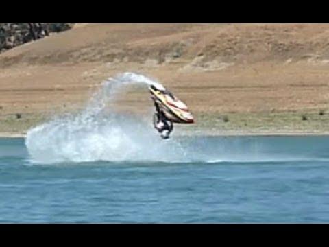Jetski Freestyle HUGE Flatwater Barrel Rolls!