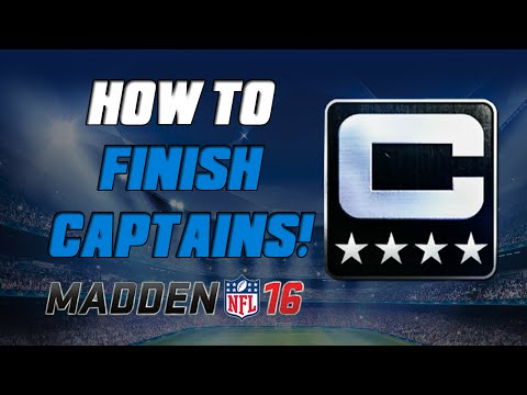 How To Finish Captain Sets Quickly! | Madden 16 Ultimate Team - MUT 16 Tips ep. 3