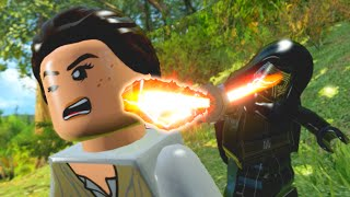 LEGO Star Wars The Force Awakens All Kylo Ren Cut Scenes & Funny Moments