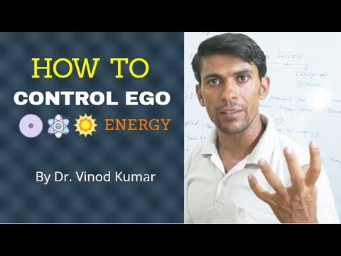 How to Control Ego - By Dr. Vinod Kumar | Hindi