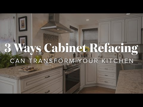 3 Ways Cabinet Refacing Can Transform Your Kitchen