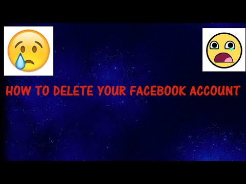 HOW TO DELETE FACEBOOK ACCOUNT ON ANDROID DEVICE