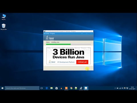 How to Install Java JDK on Windows 10 (2018)