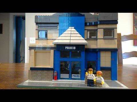 Lego MOC Modular Police Station