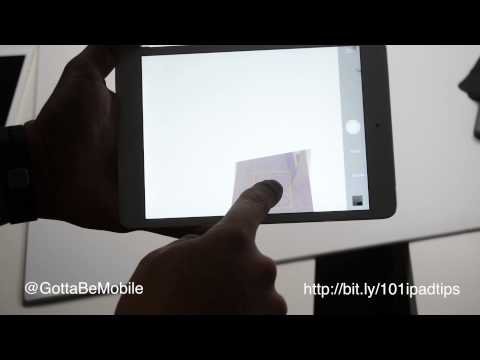 How to take Better iPad Photos