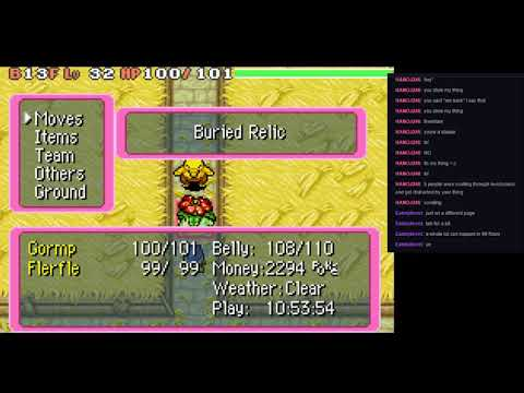 Pokemon Mystery Dungeon Red Rescue Team Post Game: Buried Relic 99F Dungeon