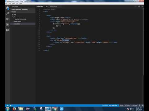 Access elements and contents inside an iFrame using jQuery