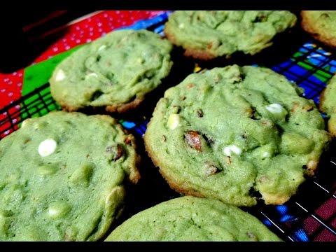 Pistachio White Chocolate Chip Cookies | Taste of Trini