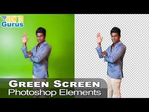 Photoshop Elements Green Screen Removal: Cut Out Image in 2018 15 14 13 12 11 Tutorial