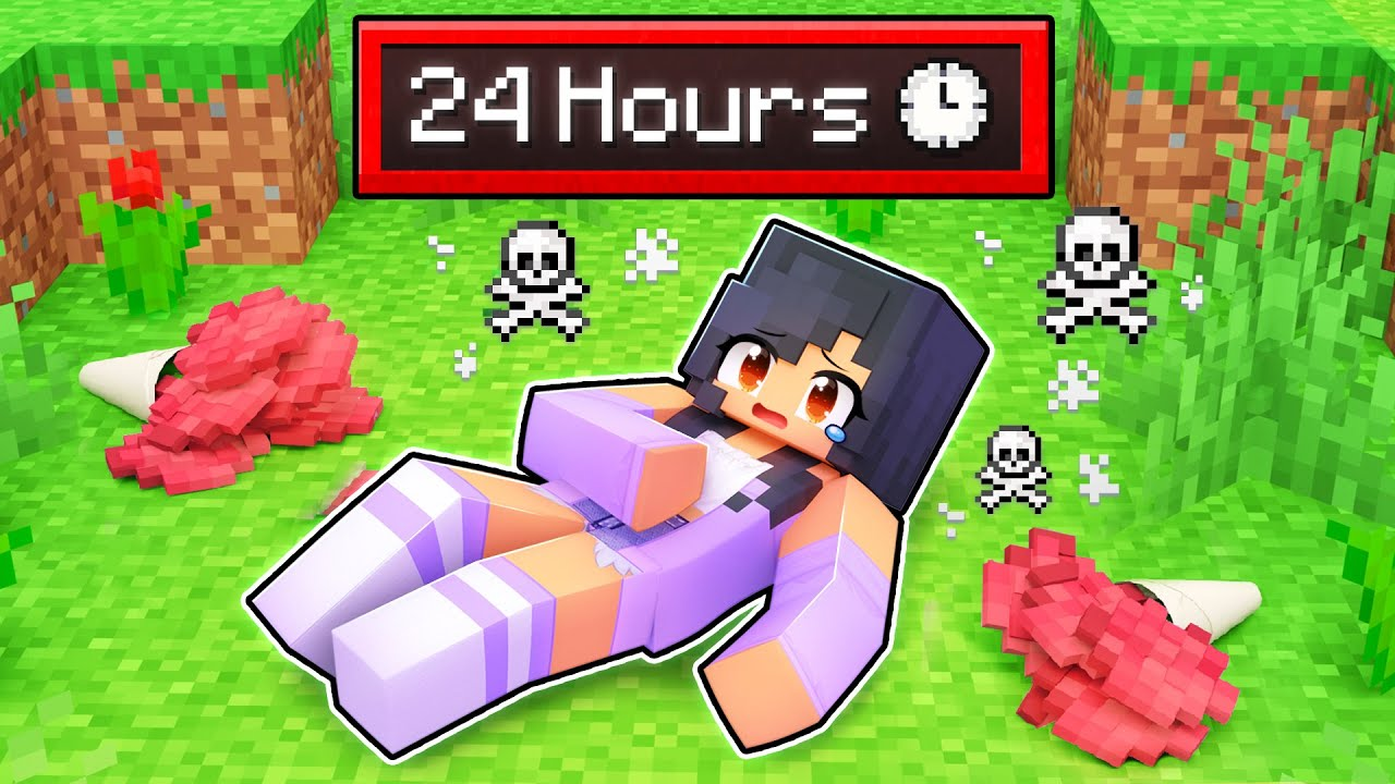 Aphmau Has Only 24 HOURS to LIVE In Minecraft!