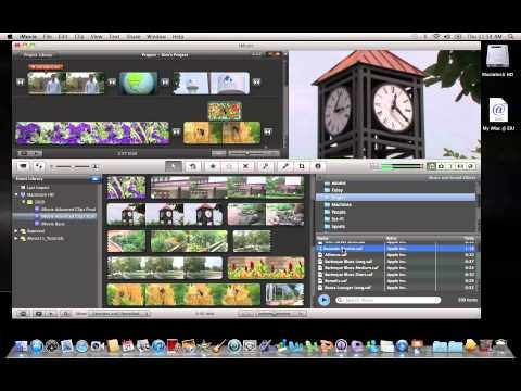 iMovie 11: Adding Background Music