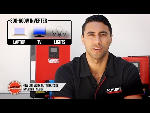 Q&A: How do I work out what size inverter I need?
