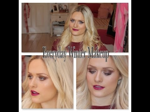 GRWM   Christmas Day/Winter Makeup With MAC 'Rebel'