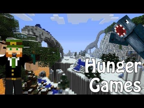 Minecraft Xbox - Hunger Games - Lights Out + Gunslinger W/Choo Choo