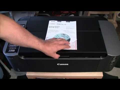 How to set up The NEW CANON Pixma PRO-100! Setup and Basic Use