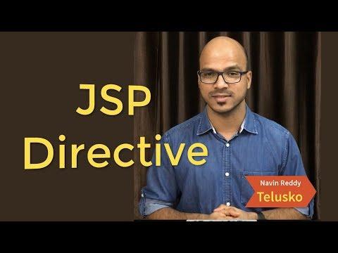 JSP Directive | Page | Include | Taglib