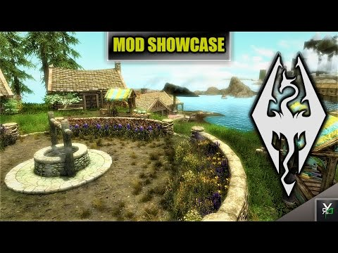 SEA-POINT SETTLEMENT!!- Xbox Modded Skyrim Mod Showcase