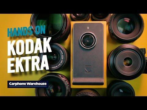 Kodak Ektra hands on