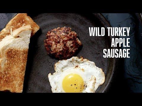 Cooking Game: Wild Turkey Apple Sausage