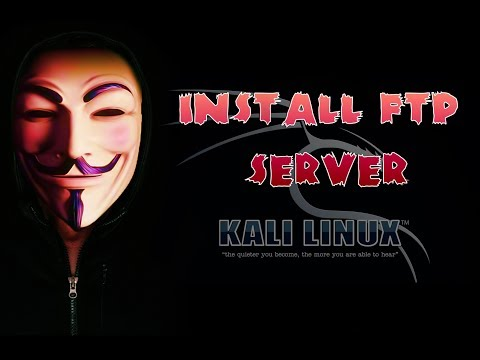 How to Install FTP Server on Kali Linux